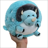 Mini Squishable Triceratops: An Adorable Fuzzy Plush to Snurfle and Squeeze!