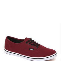 Vans Authentic Lo Pro Tawny Sneakers - Womens Shoes - Red