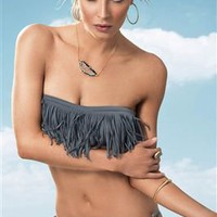 L*Space&#x27;s Slinky Solids &#x27;11 Bandeau Top | Everything But Water