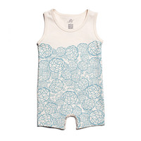 Oh Joy for Winter Water Factory Summer Romper - Slate BlueWinter Water Factory