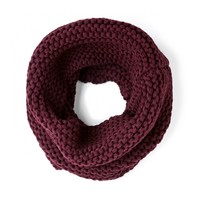 Sole Society Garter Knit Cowl