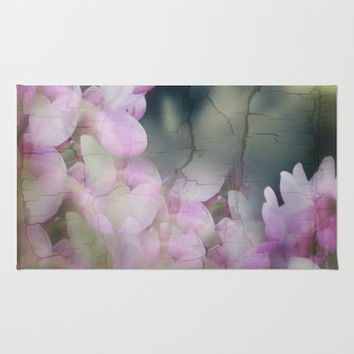 Sometimes When One Least Expects It Spring Breaks Through!  Area & Throw Rug #society6 #hope #love by Louisa Catharine Forsyth