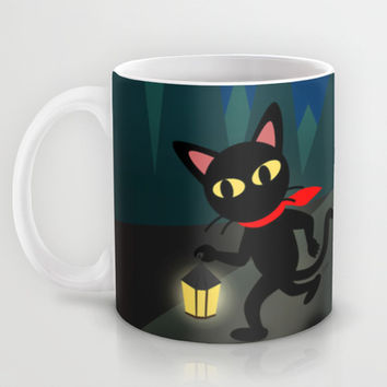 Walk in the night Mug by BATKEI