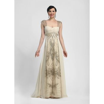 Sue Wong, Immaculate Composition Gown