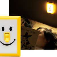 SMILE LED WALL NIGHT LIGHT