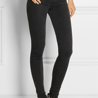 J Brand - Jess Photo Ready high-rise stacked skinny jeans