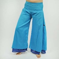 Cotton Layered Malmal Pants
