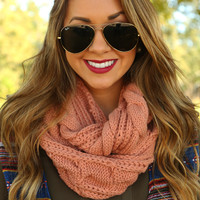 Magic In My Veins Scarf: Blush - One
