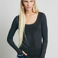 Free People Womens FP X Rose Garden Thermal