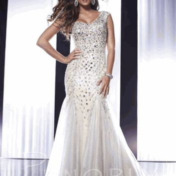 Panoply 14582 Size 4 Champagne/Silver