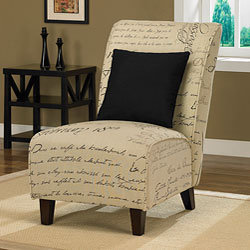Tapered Signature Chair with Pillow | Overstock.com