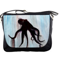 Octopus Messenger Bag, Back to school - Golem