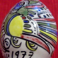 Hand Painted Ceramic Vintage Shaker Acapulco Mexico