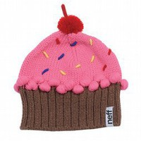 Neff Fuzzy Cupcake Beanie Strawberry 2013 - Women's