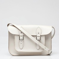 The Leather Satchel Co. / 11 Inch Standard White