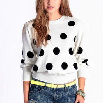Domino Effect Sweater by MINKPINK - $79.00 : ThreadSence.com, Free-spirited fashion for the indie-inspired lifestyle