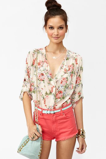 Rose Blossom Blouse