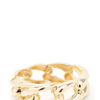 chain-link-hinge-bracelet GOLD SILVER - GoJane.com