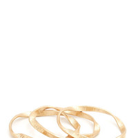 twisted-textured-bangle-trio GOLD - GoJane.com
