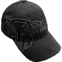 ROCKWORLDEAST - Transformers, Baseball Hat, Autobots Distressed