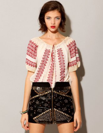 Heavy metal skirt [Lad3944] - $95 : Pixie Market, Fashion-Super-Market