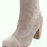 DV by Dolce Vita Nuri Boot | Suede Ankle Bootie | MessesOfDresses.com