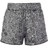 Karl | Sabine sequined shorts | NET-A-PORTER.COM