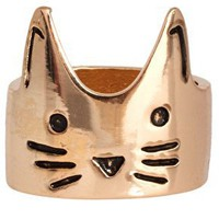 ASOS Cat Face Ring at asos.com