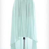 High Expectations Skirt in Mint