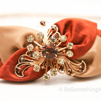 vintage leaves headband for women and teens