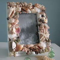 Beach Decor Seashell Frames - Nauti.. on Luulla