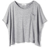Loose Cropped T-Shirt