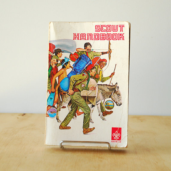1970s Scout Handbook