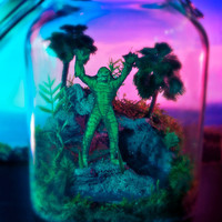 Creature from the Black Lagoon  -  Classic Horror Terrarium / Diorama