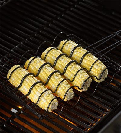 Corn Grilling Basket - Plow  Hearth
