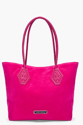 Proenza Schouler Ps1 Small Fuchsia Shopper Tote for women | SSENSE