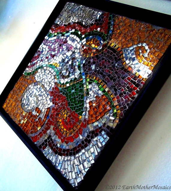 Contemporary Abstract, Mosaic, Wall Art, from ...