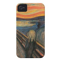 The Scream Barely There™ iPhone 4 Iphone 4 Cover from Zazzle.com