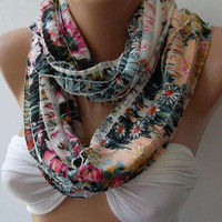 Elegant -Spring -Infinity /Shawl/Scarf.