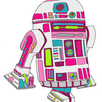 cool girls like epic droids Art Print by Bianca Green | Society6