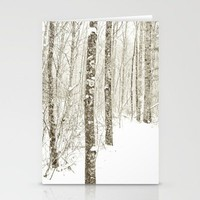 Wintry Mix Stationery Cards by Joy StClaire | Society6