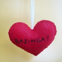 Bazinga Ornament Funny on Luulla