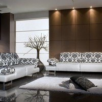 Daniela - Modern Sofa - IF LIVING ROOM - &amp;#36;2430,00 - IF-HERVAL - Brazil - Sectional / Sofa sets - NY Living room - Furniture by Duval Group