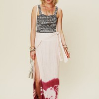 Free People Spinner Dip Dye Maxi