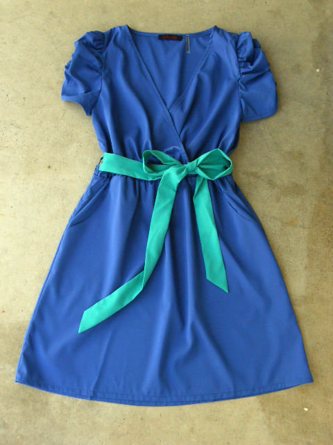 Periwinkle Summer Dress [2668] - $36.00 : Vintage Inspired Clothing &amp; Affordable Summer Dresses, deloom | Modern. Vintage. Crafted.