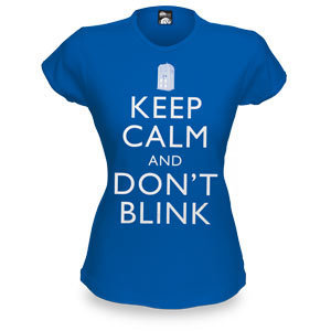 Keep Calm and Dont Blink Babydoll