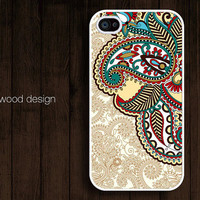 cover iphone 4 unique case beautiful  iphone 4 case iphone 4s case iphone 4 cover  illustration classic flowers design