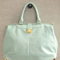 city girl mint purse at ShopRuche.com