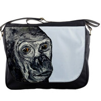 Gorilla Messenger Bag, Back to school - Gentle Eyes