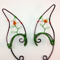 Fairy Ear Tips - For Flower Faeries - Ear Extensions - Ear Cuffs